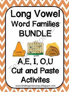 Long E Word Families.