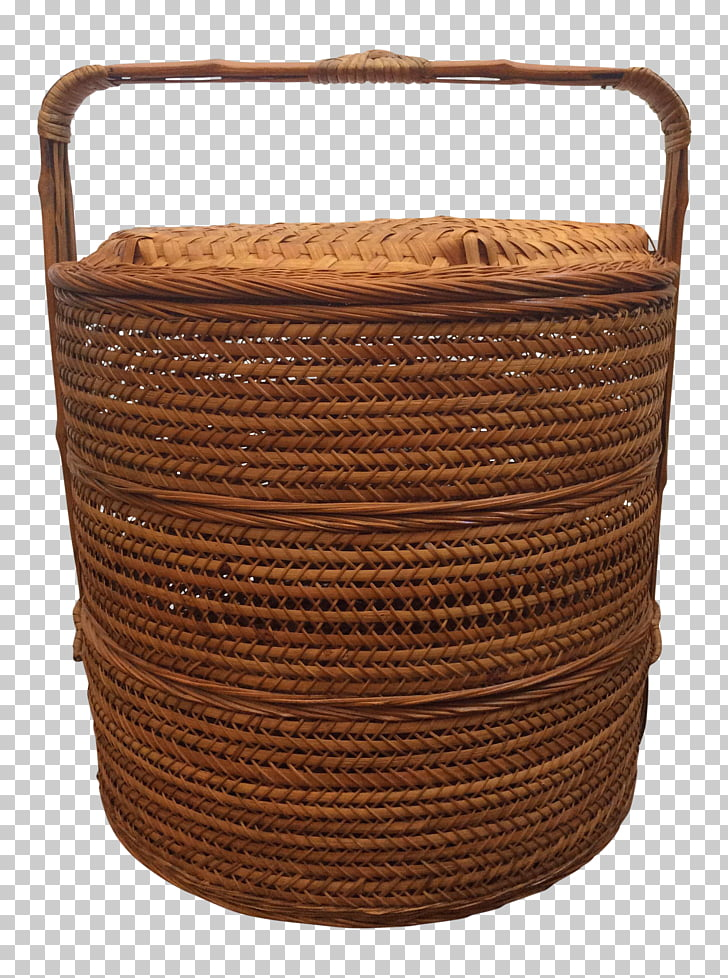 The Longaberger Company Wicker Basket Rattan Antique, the.