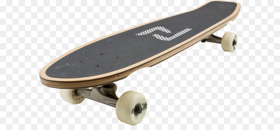 Longboard Skateboarding.