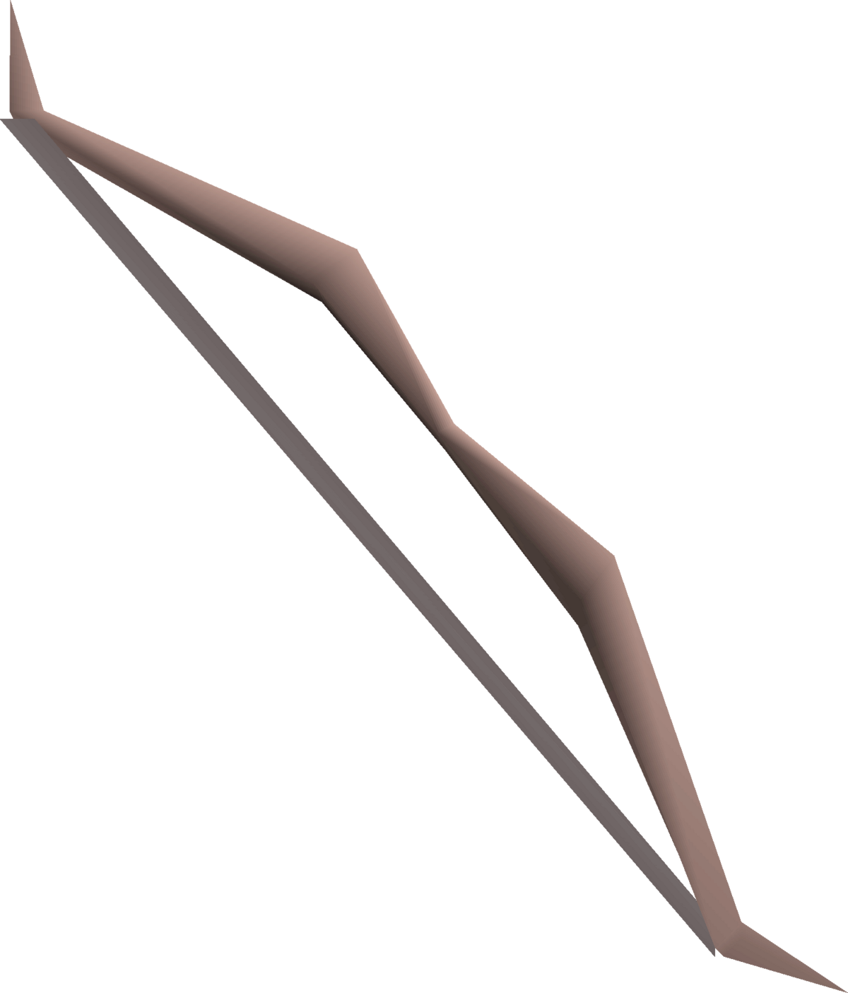 Maple longbow.