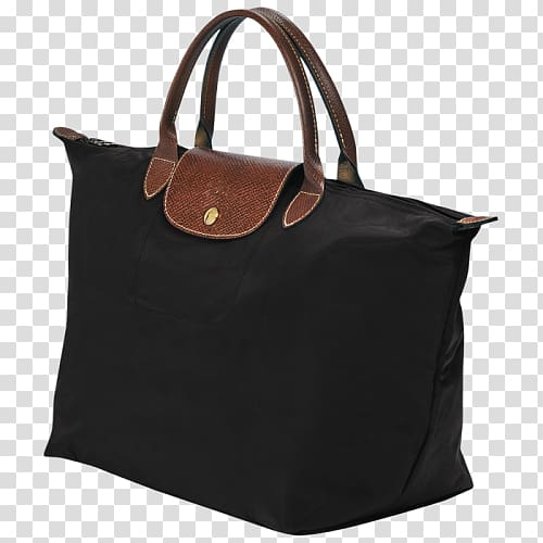 Longchamp Handbag Pliage Tote bag, bag transparent.