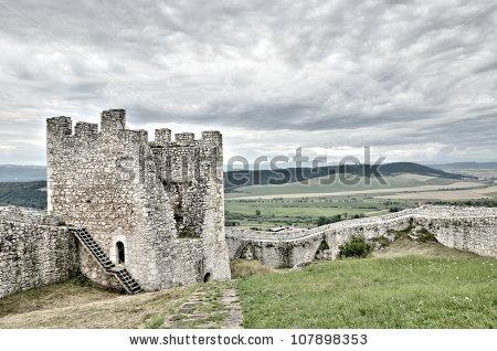 Slovakia Castle Stock Photos, Royalty.