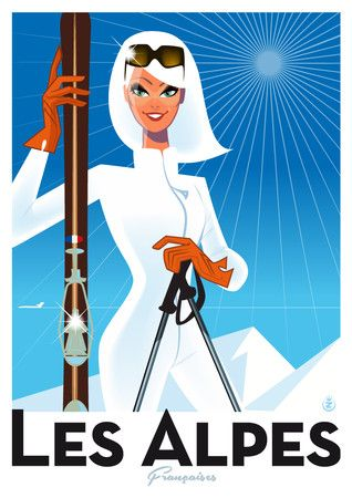 17 Best ideas about Ski Alpes on Pinterest.