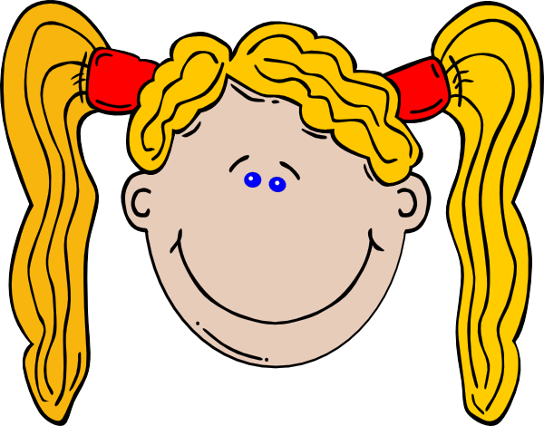 Pregnancy Girls With Long Hair Clipart.