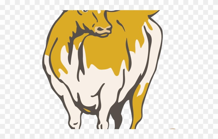 Longhorn Cattle Clipart Texas Symbol.