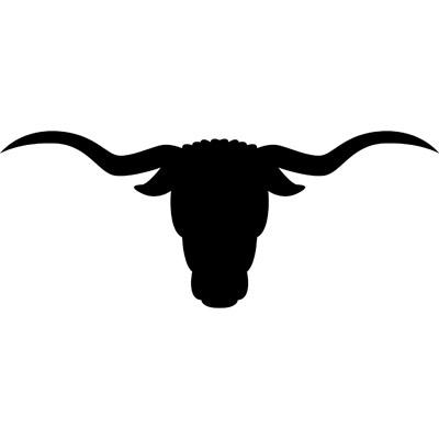 Longhorn Mascot Clipart.