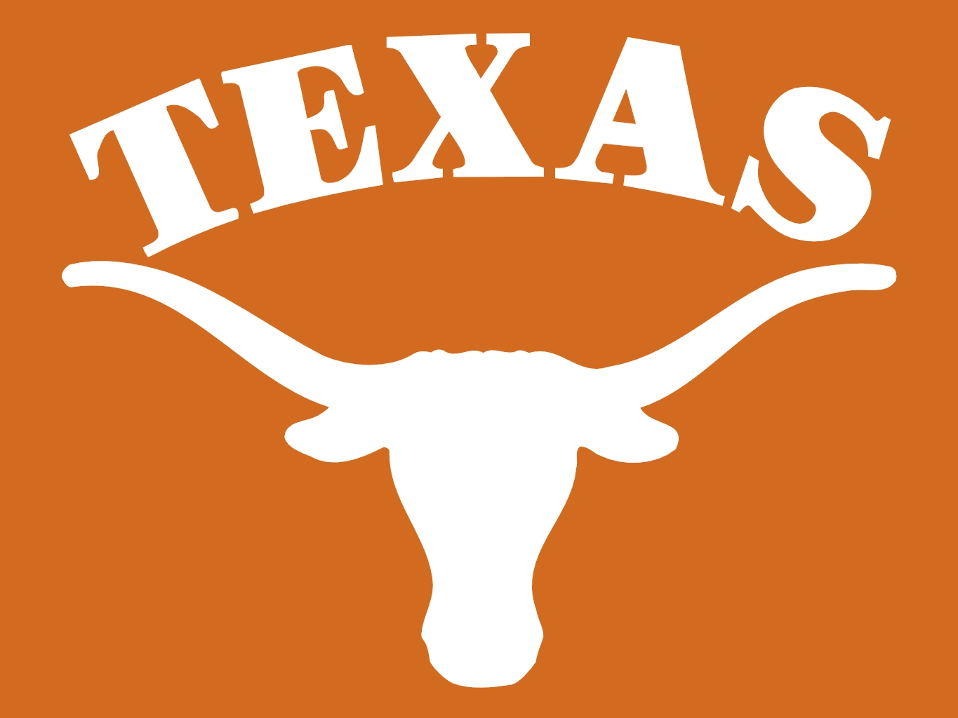 University Texas Longhorn Clipart Free.
