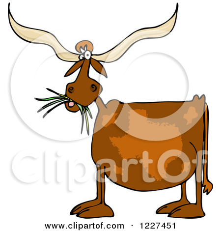 Longhorn steer clip art.
