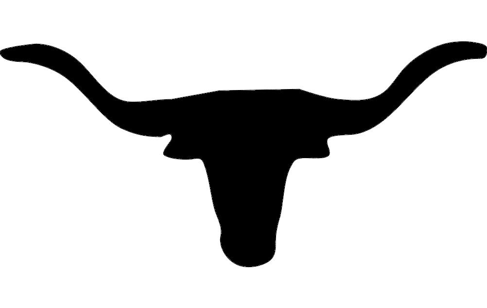 Texas Longhorn Dxf File #33067.