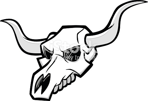 Free Bull Skull Clipart and Vector Graphics.