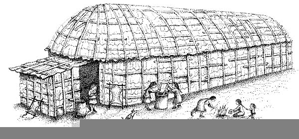 Clipart Longhouses.