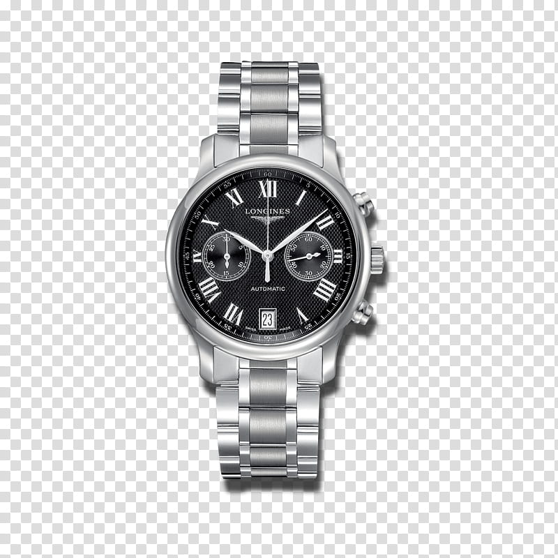 Silver Background, Longines Master Collection L, Watch.