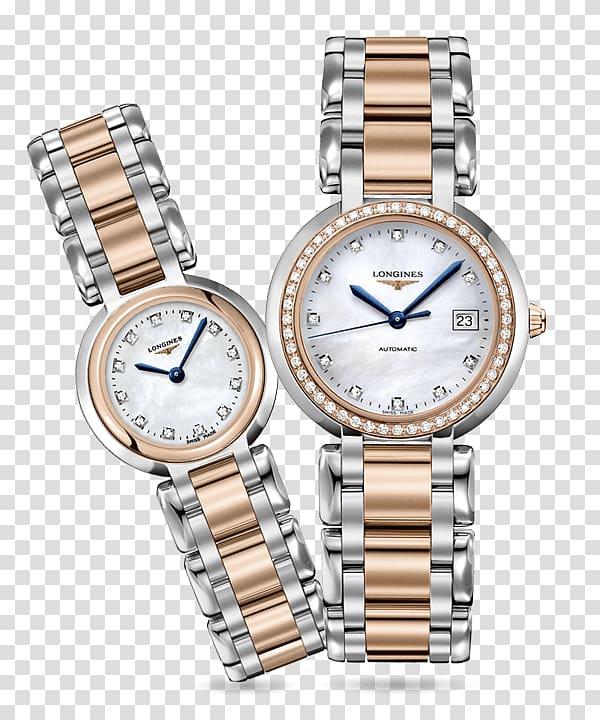 Longines Watch Diamond Bracelet Quartz clock, Longines heart.