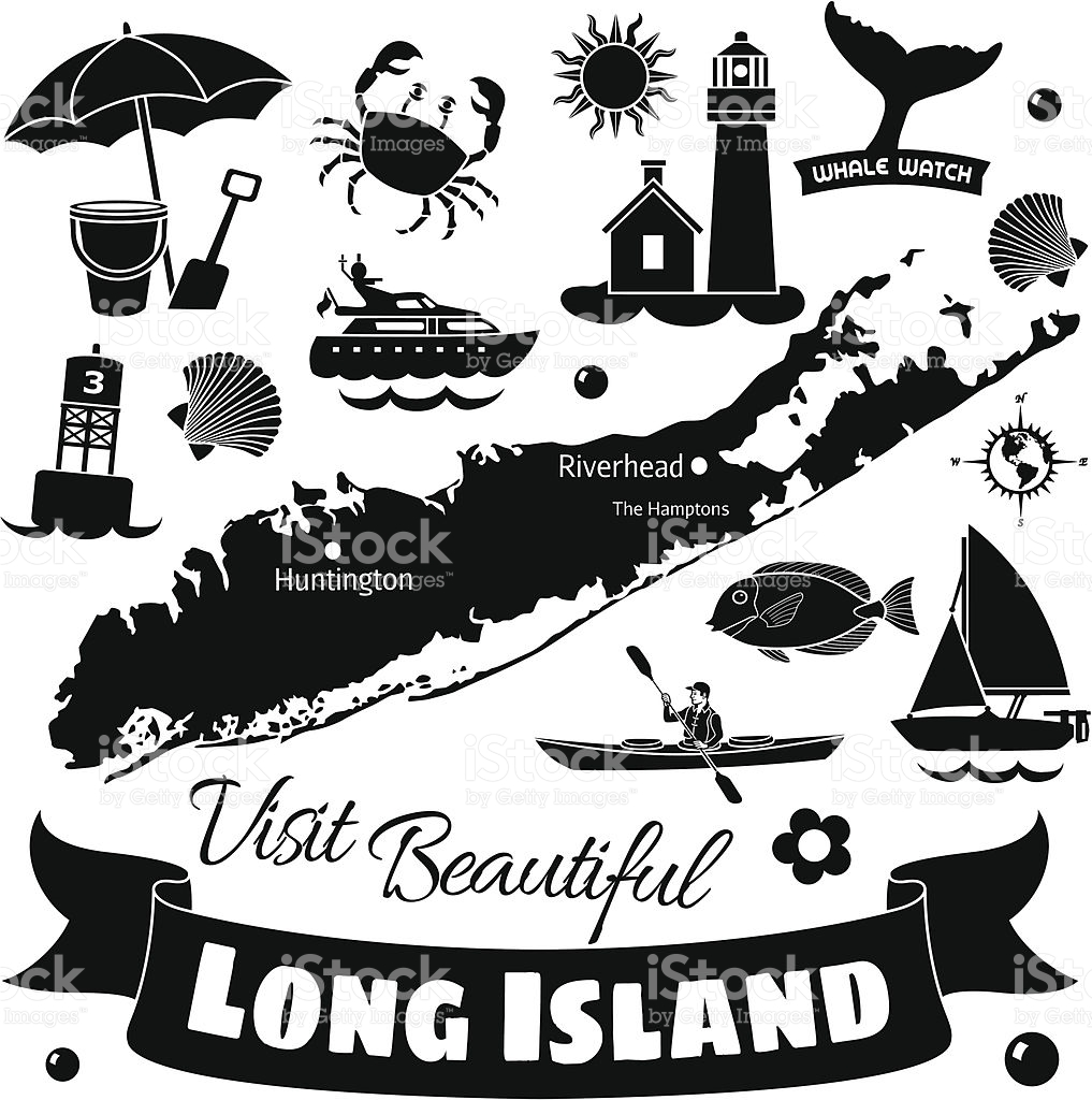 Long Island stock vector art 166012006.