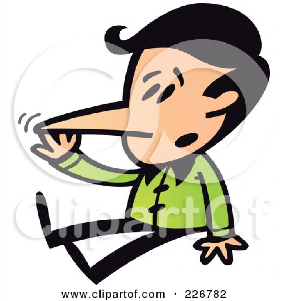 touching nose clipart touching nose clipart royalty free rf long.