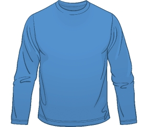 Long sleeve clipart.