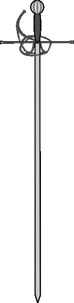 Longsword clipart #11