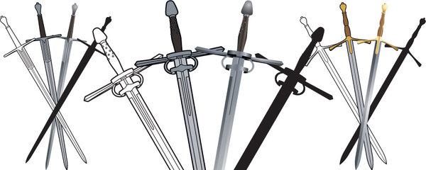 Long Sword Clip Art Sample by JohnRaptor on DeviantArt.