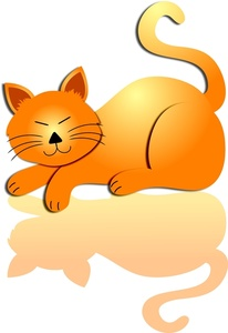 Kitty Cat Clipart Image.
