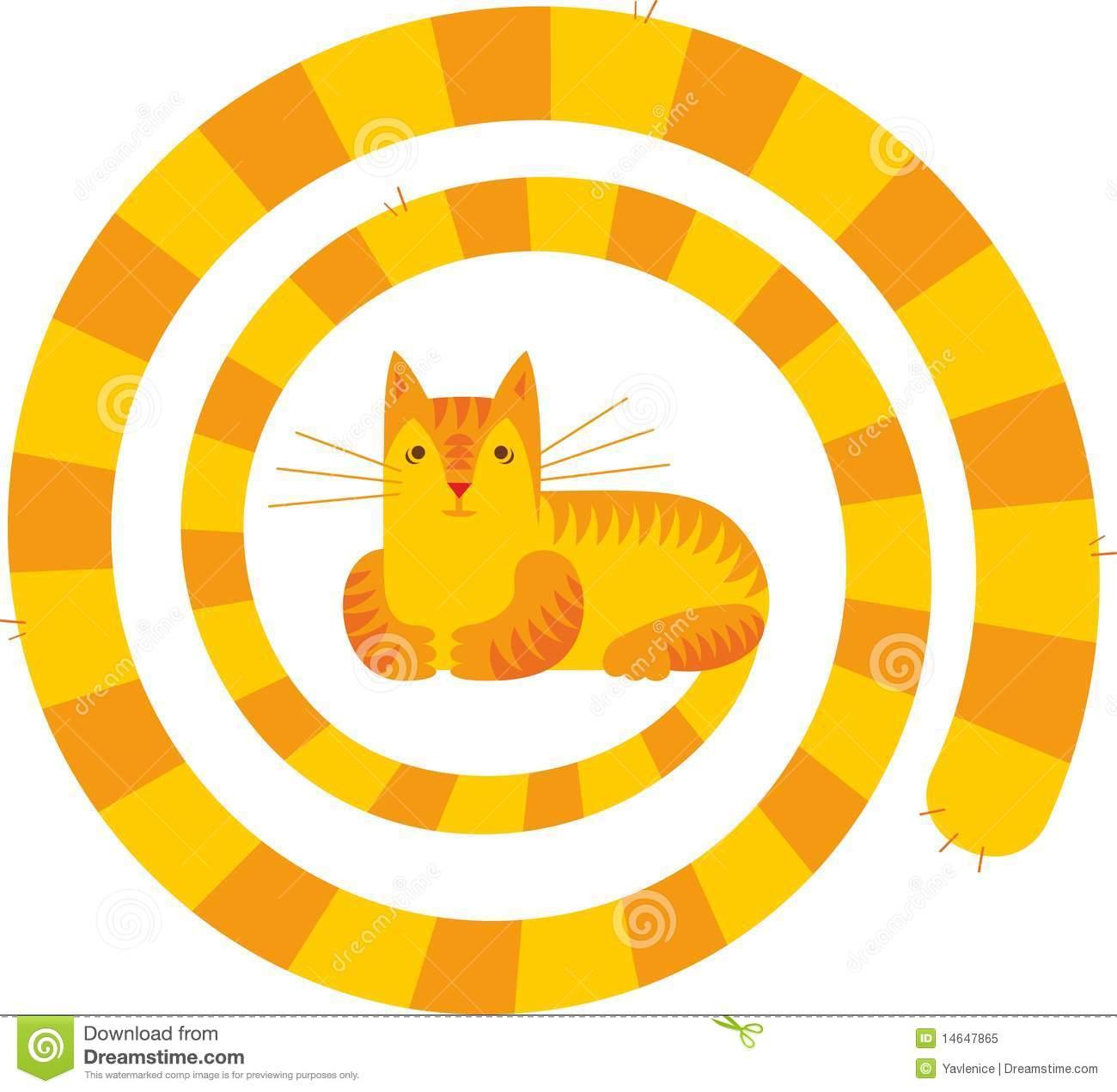 Long Tail Cat Royalty Free Stock Photo.