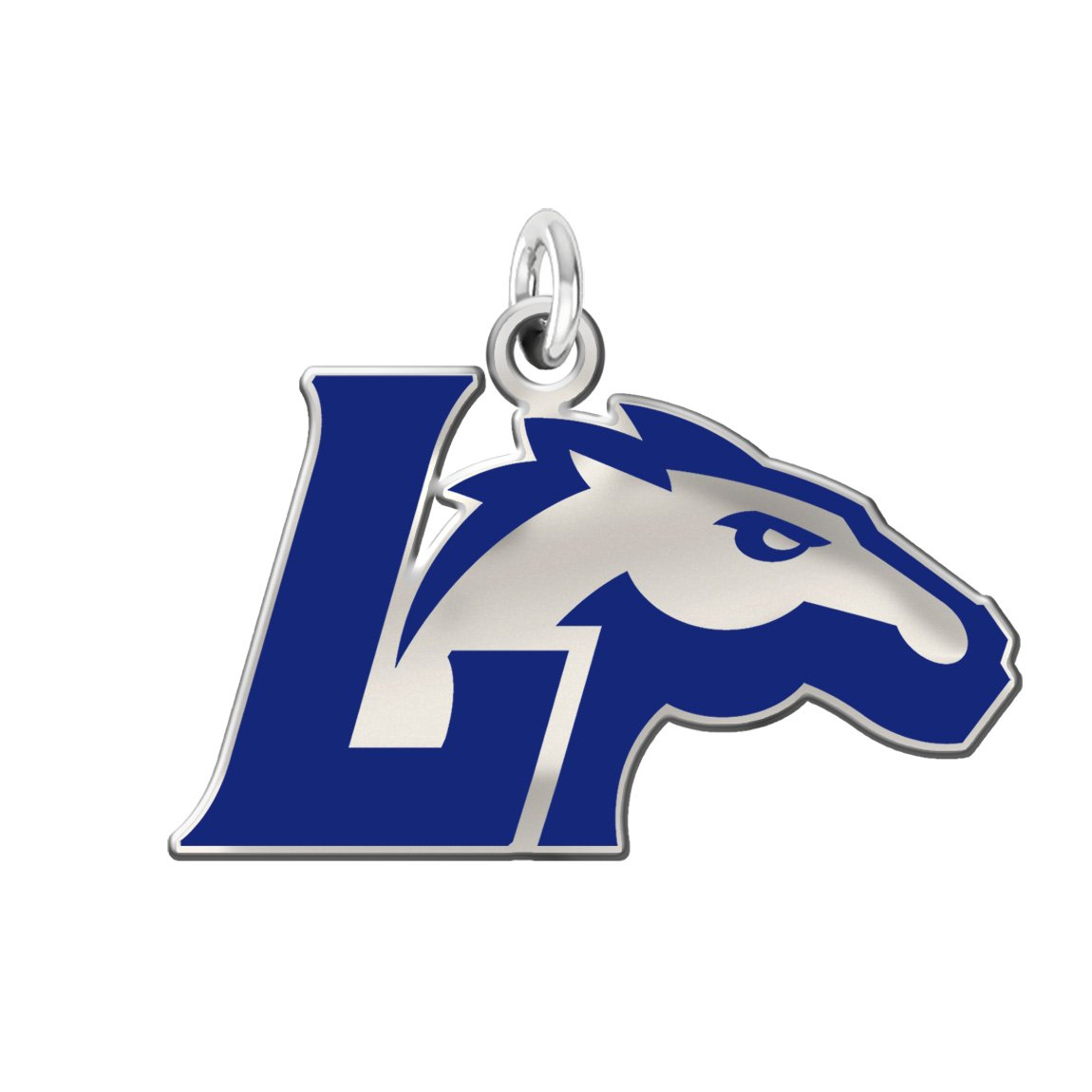 Amazon.com: Longwood Lancers Sterling Silver Logo and School.