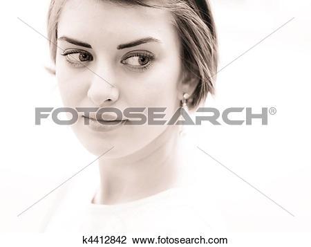 Stock Photo of Look away k4412842.