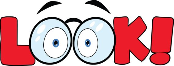 Looking Eyes Clipart.