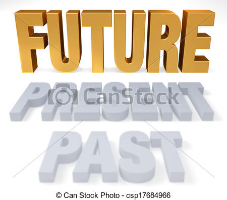 Stock Illustration of Look Forward To The Future.