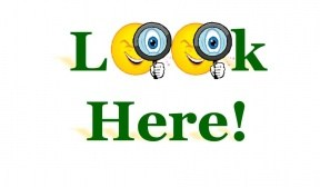 Look here clipart » Clipart Portal.