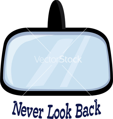 Never look back vector by WindmillDesigns.