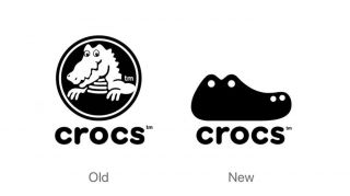 Concept crocs logo gives \'ugly\' shoe brand a smart new look.