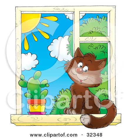 Royalty Free Stock Illustrations of Windows by Alex Bannykh Page 1.