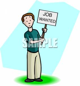 Looking For A Job Clipart.