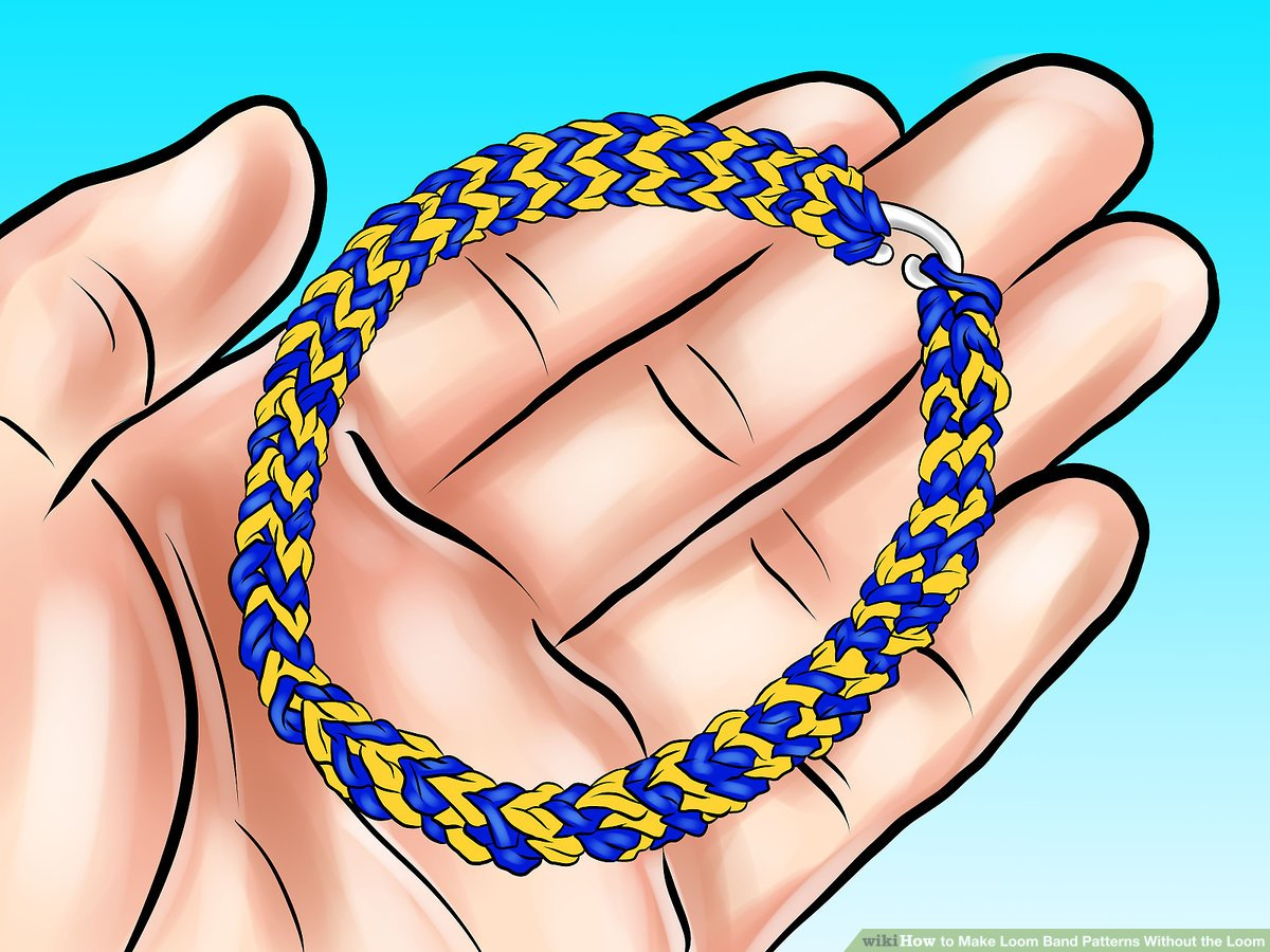 3 Ways to Make Loom Band Patterns Without the Loom.