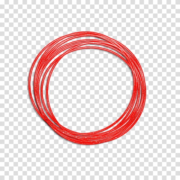 Circulos, red loom bands transparent background PNG clipart.