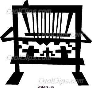 loom Vector Clip art.