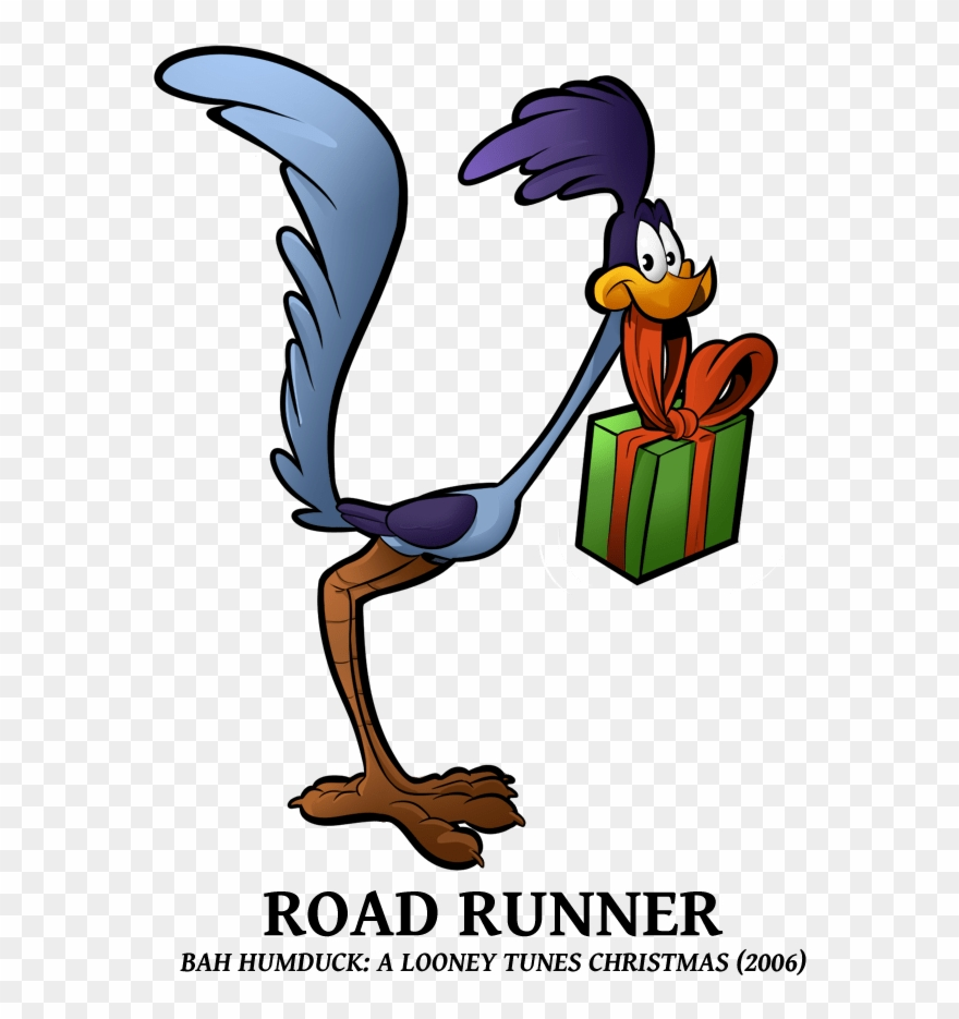 Bah Humduck A Looney Tunes Christmas Roadrunner Clipart.
