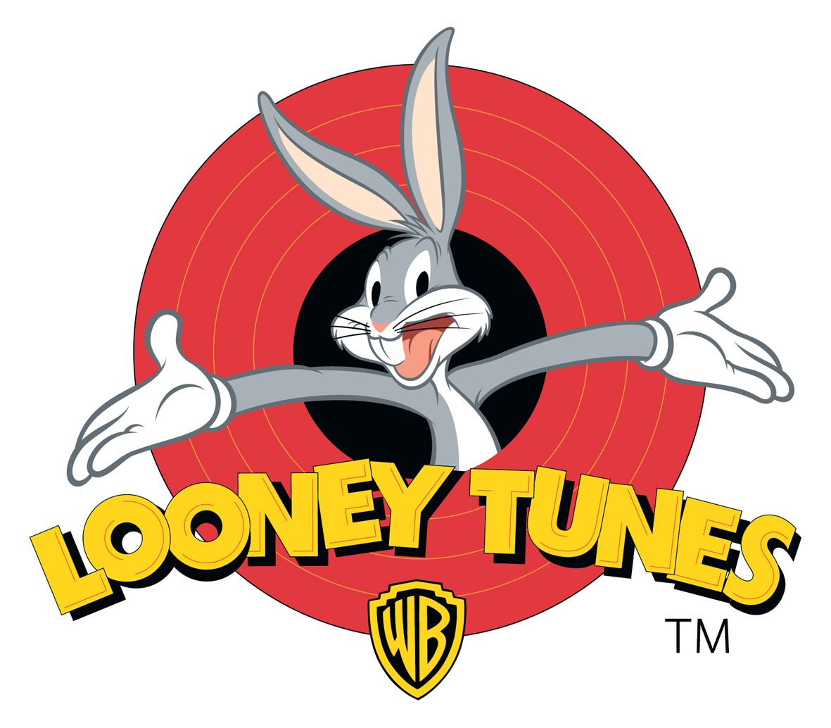 Clipart of the Looney Tunes Logo free image.
