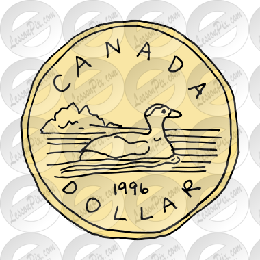 Loonie Picture for Classroom / Therapy Use.