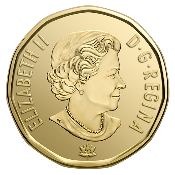 Coin clipart loonie, Coin loonie Transparent FREE for.