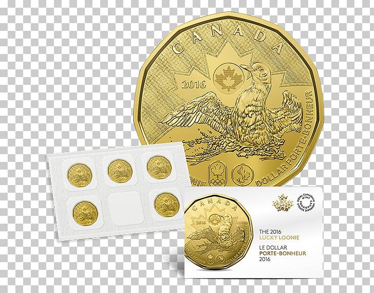 Canada Coin Loonie Canadian dollar Royal Canadian Mint.