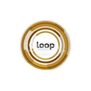 Loop, infinity business icon Clipart Image.