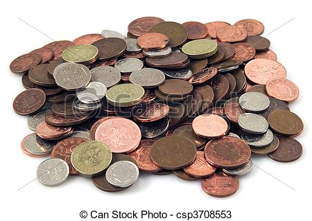 Stock Photos of Loose change.