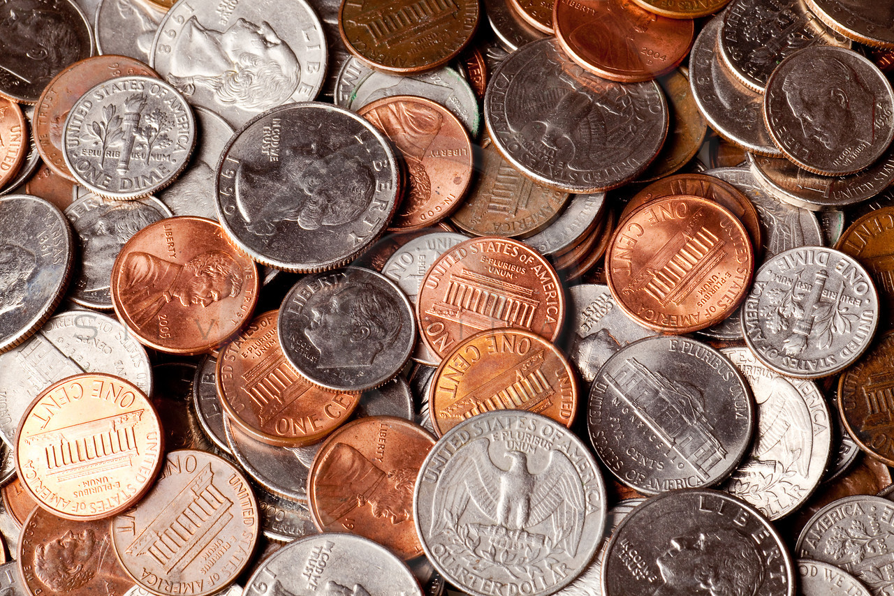 Loose change clipart - Clipground