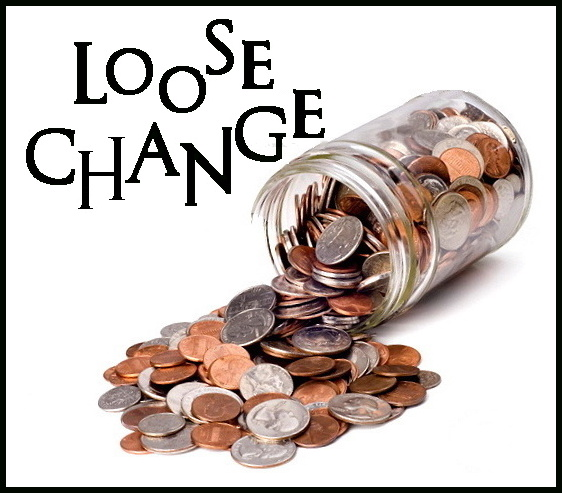 Loose change clipart.