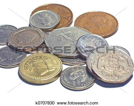 Stock Photography of Loose change k0707830.