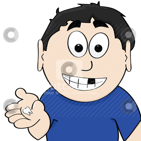 Loose tooth clipart.