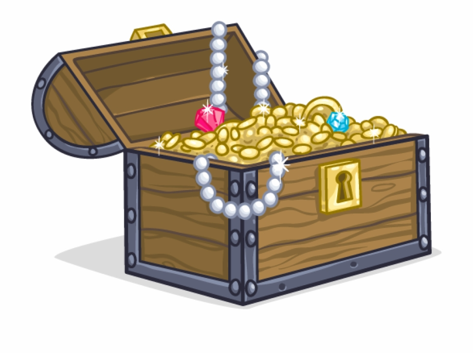 Treasure Chest Png Image Background.