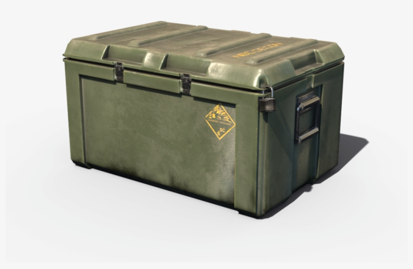 Military Loot Weapon Case Pbr 3d Model.