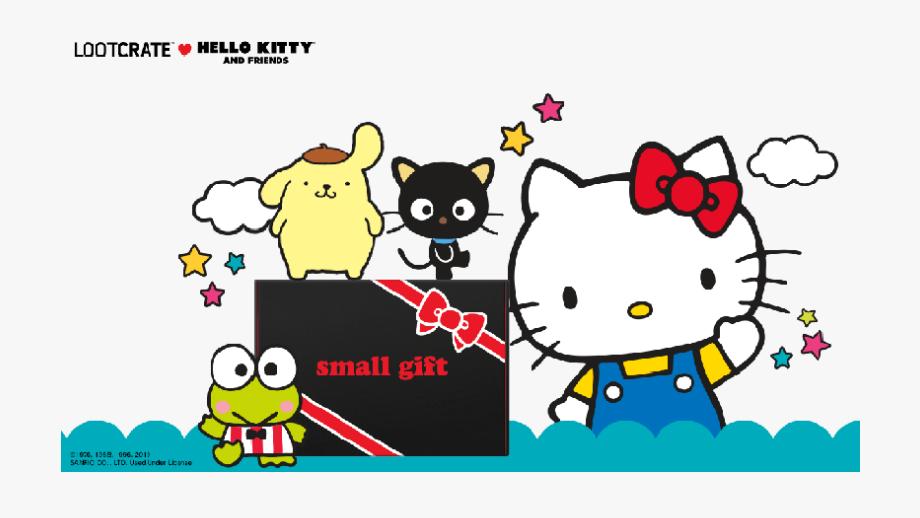Lootcrate Hello Kitty & Friends , Transparent Cartoon, Free.